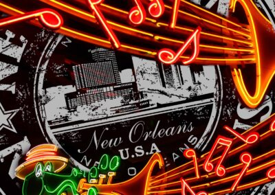 Neon New Orleans Sign
