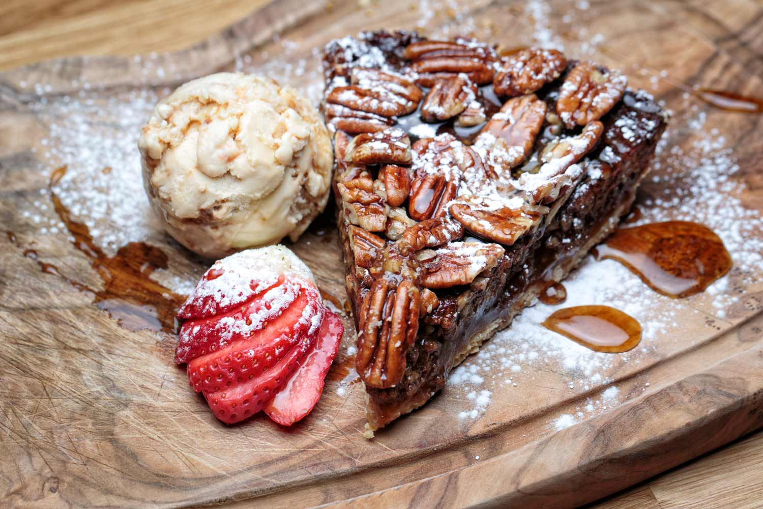 Pecan Pie at Maggies Grill Aberdeen