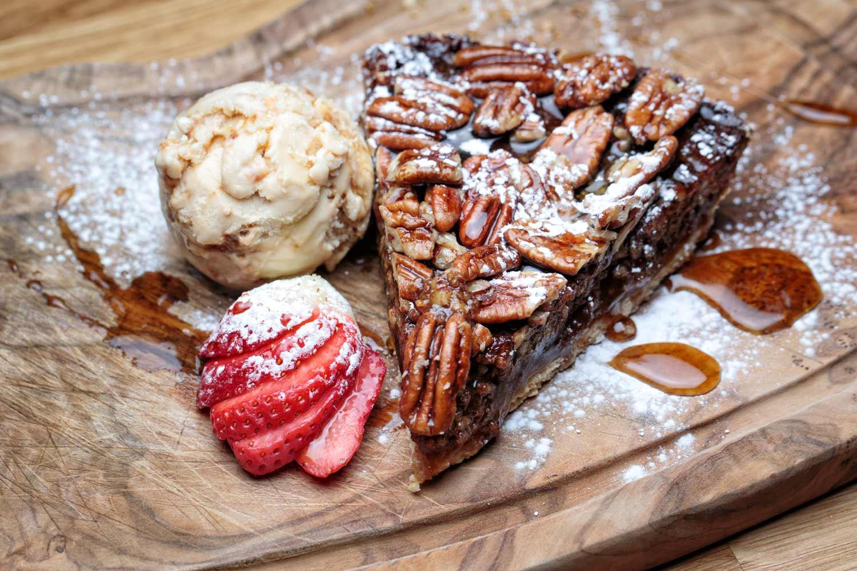 Pecan Pie at Maggies Grill Aberdeen