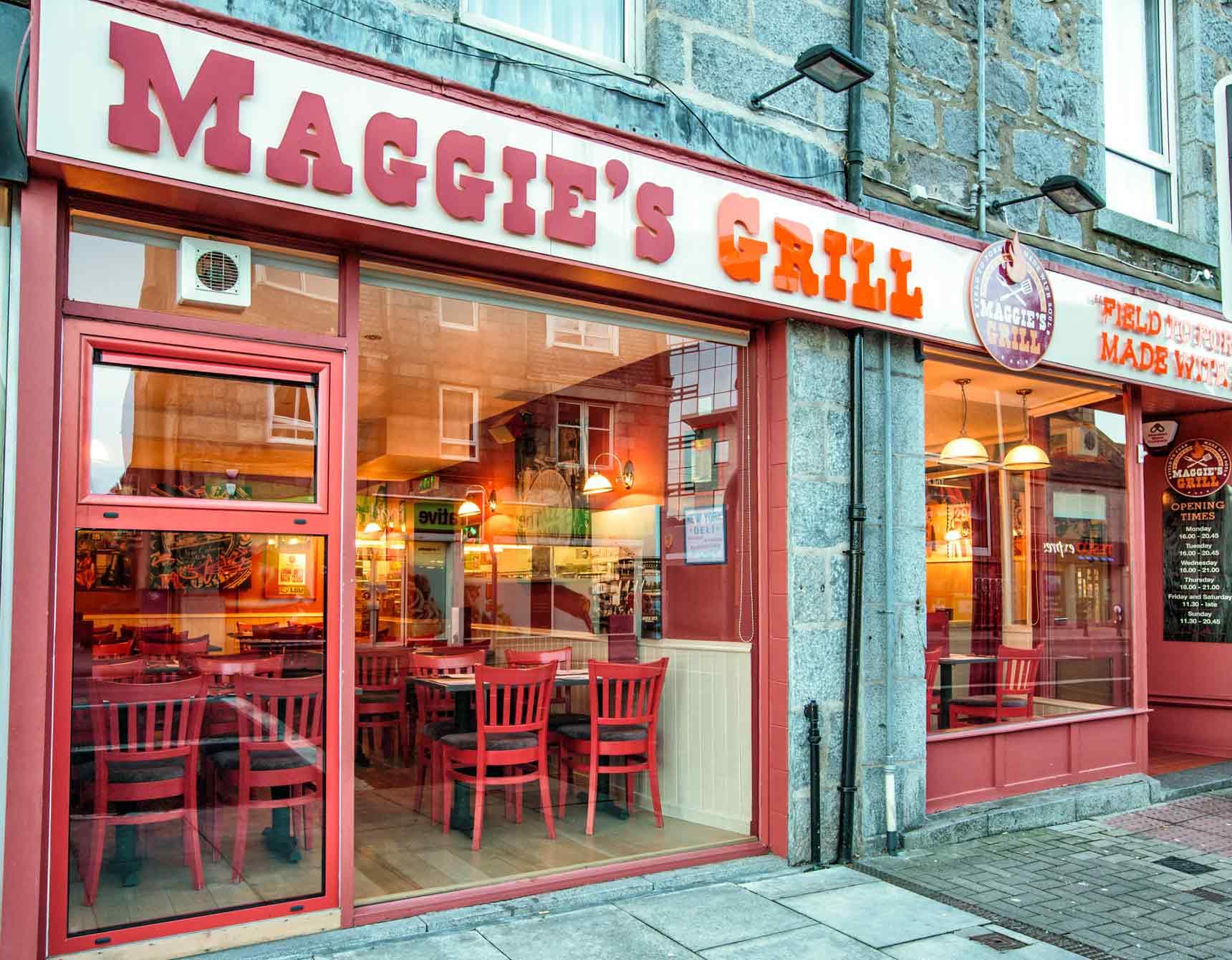 Maggies Grill Soul Food Restaurant In Aberdeen